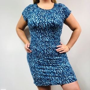 Lilly Pulitzer Short Sleeve Cinched Waist Dress